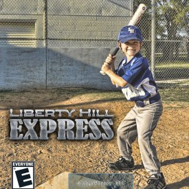 Youth Baseball Video Game Cover